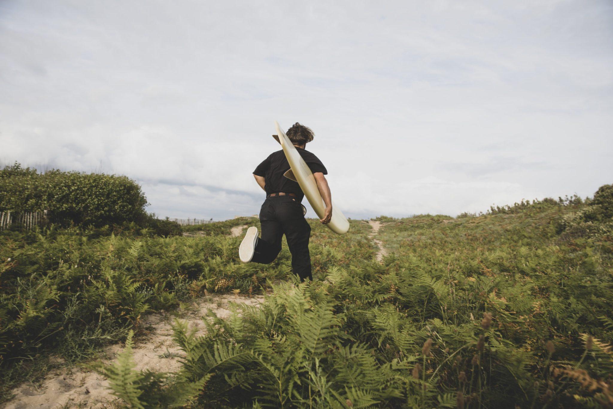 cachalot surfboards planche surf handmade artisan shaper hollow bois quiver bonzer ile de ré