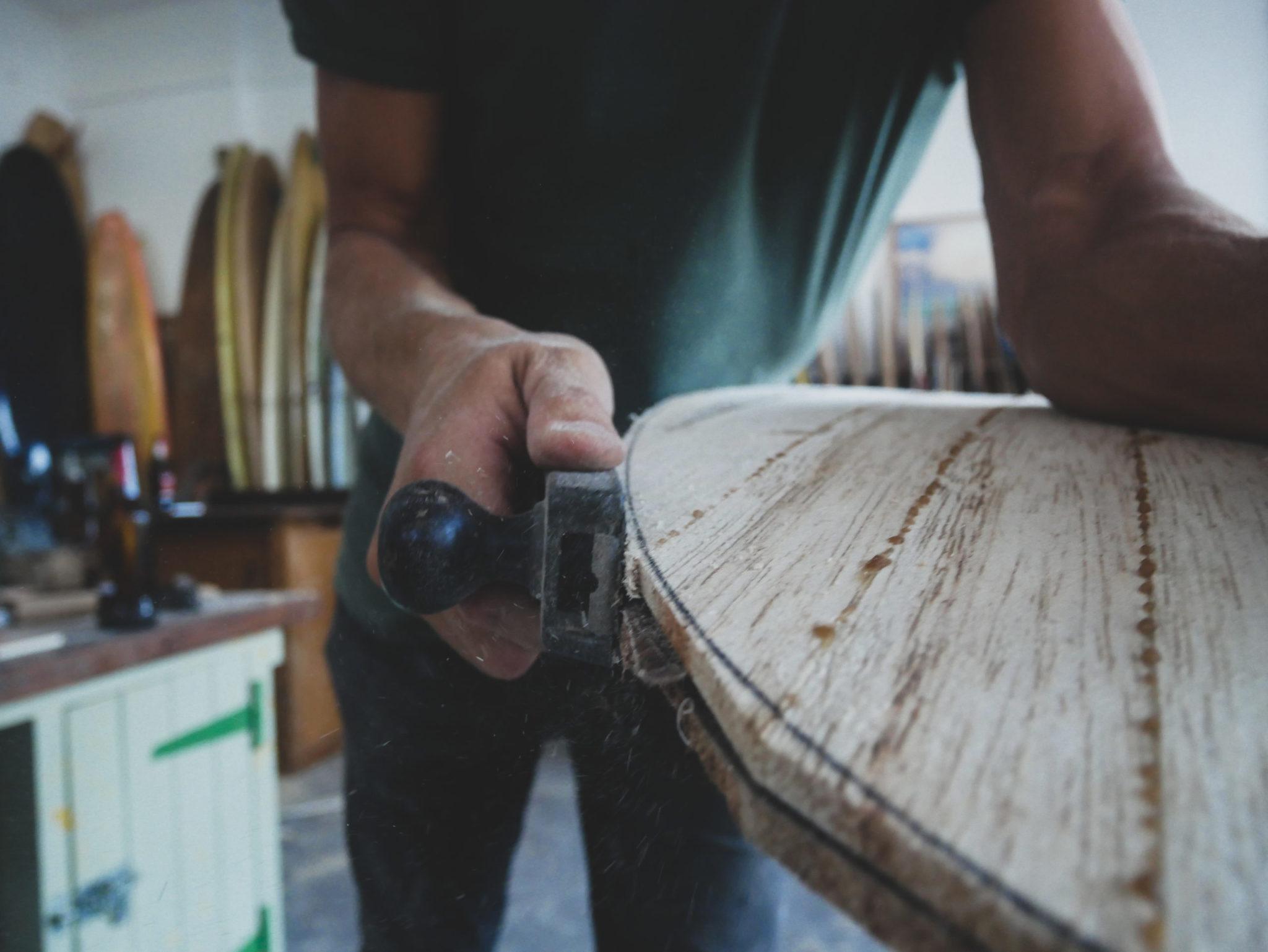 cachalot surfboards planche surf handmade artisan shaper hollow bois atelier shape julien mavier