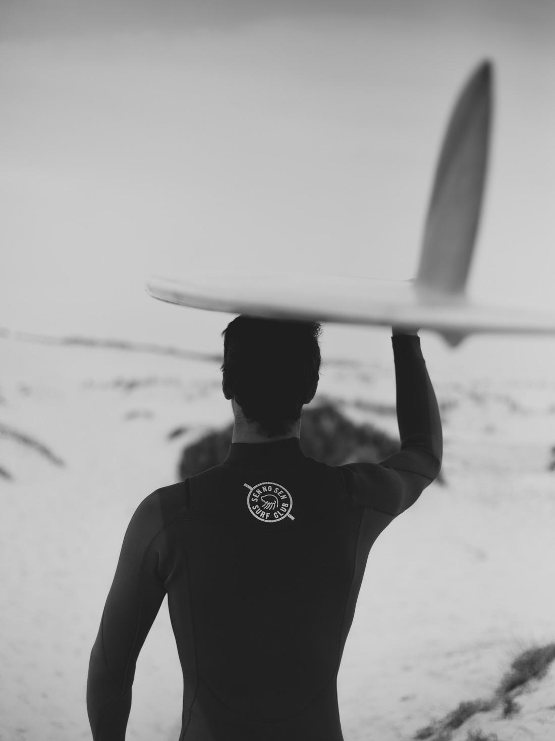 cachalot surfboards artisan sen no sen shaper surf bois hollow wooden sunrise over sea