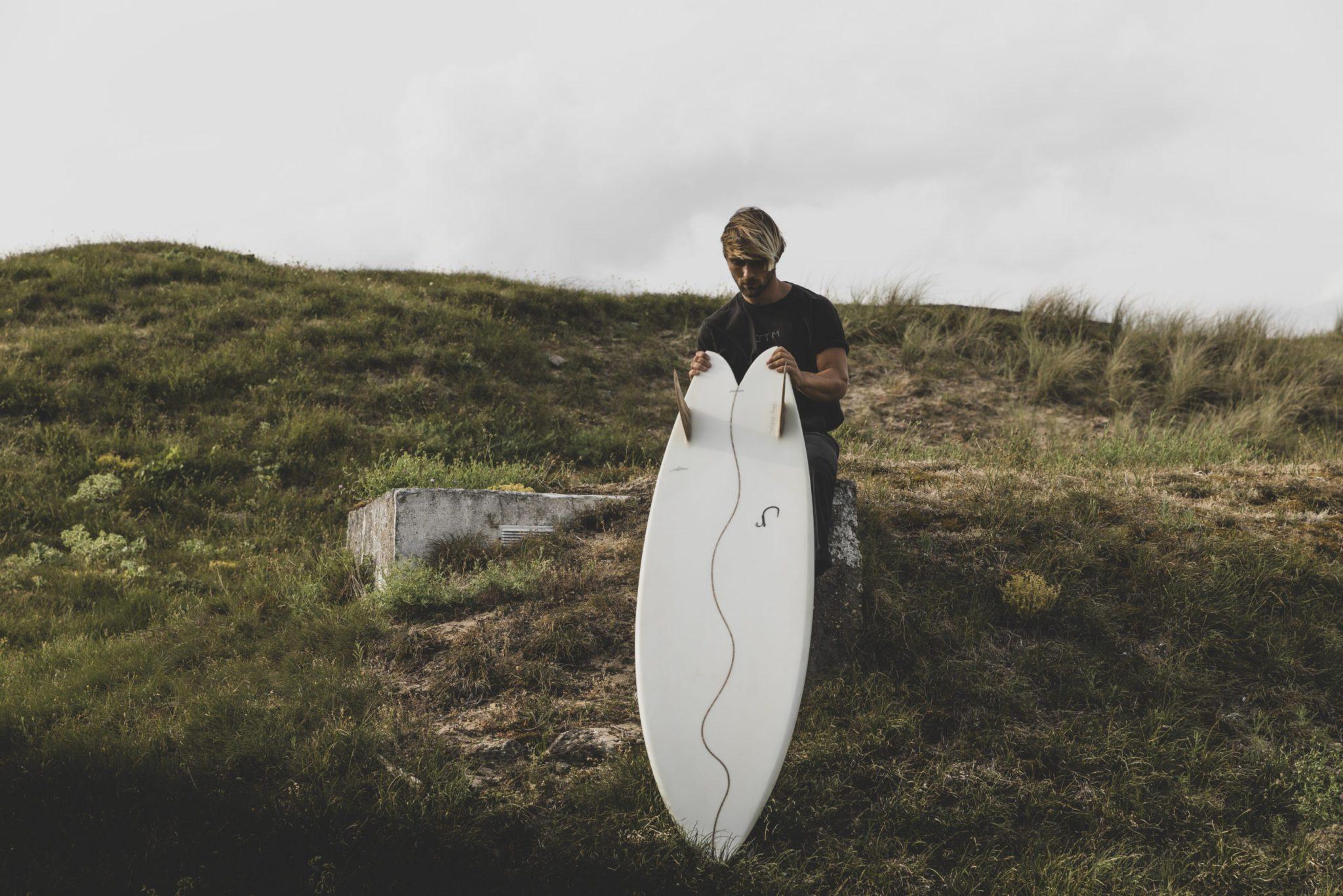 cachalot surfboards planche surf handmade artisan shaper hollow bois hareng julien mavier