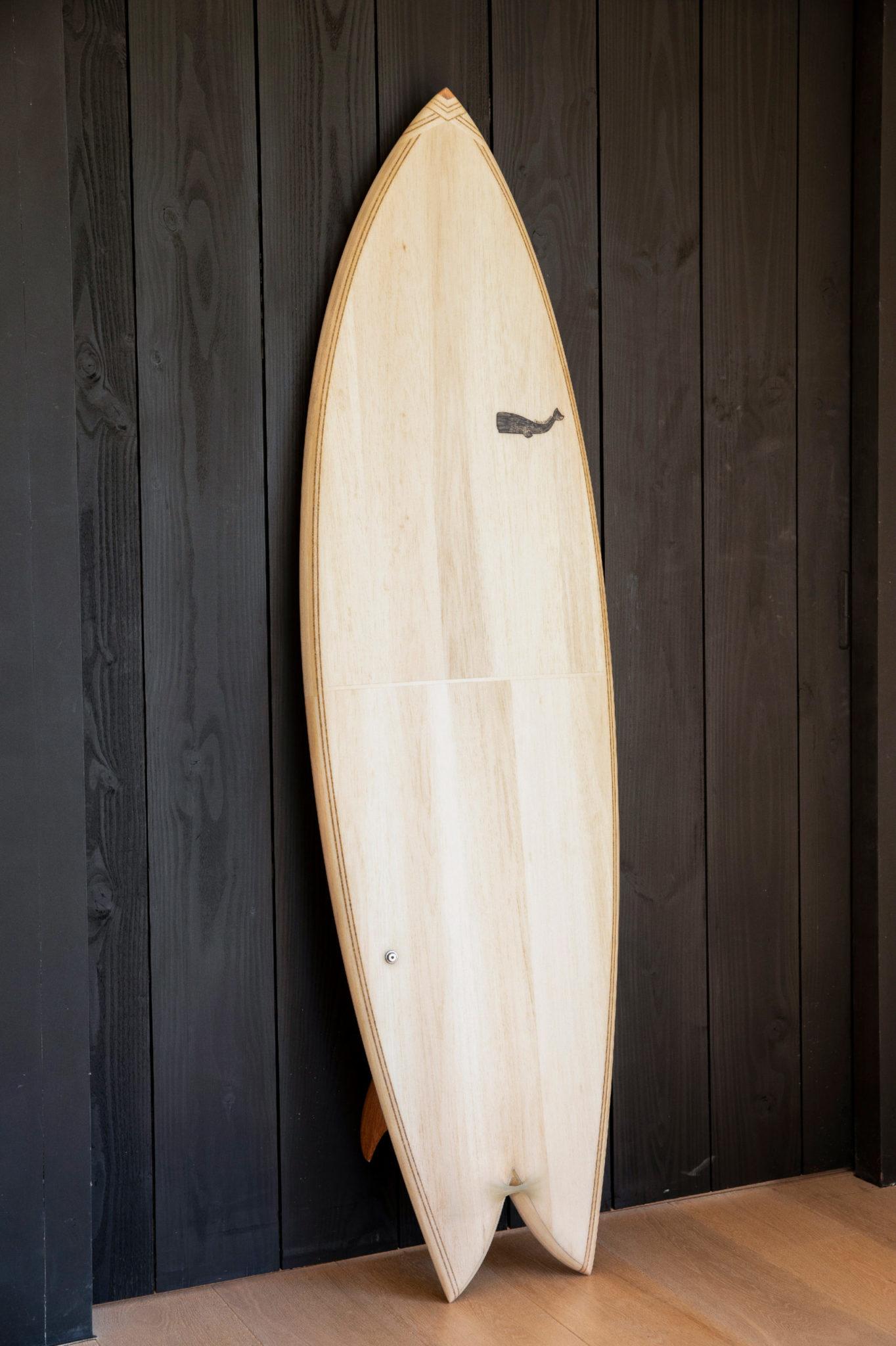 cachalot surfboards artisan hand shaper surf bois hollow wooden hareng julien Mavier