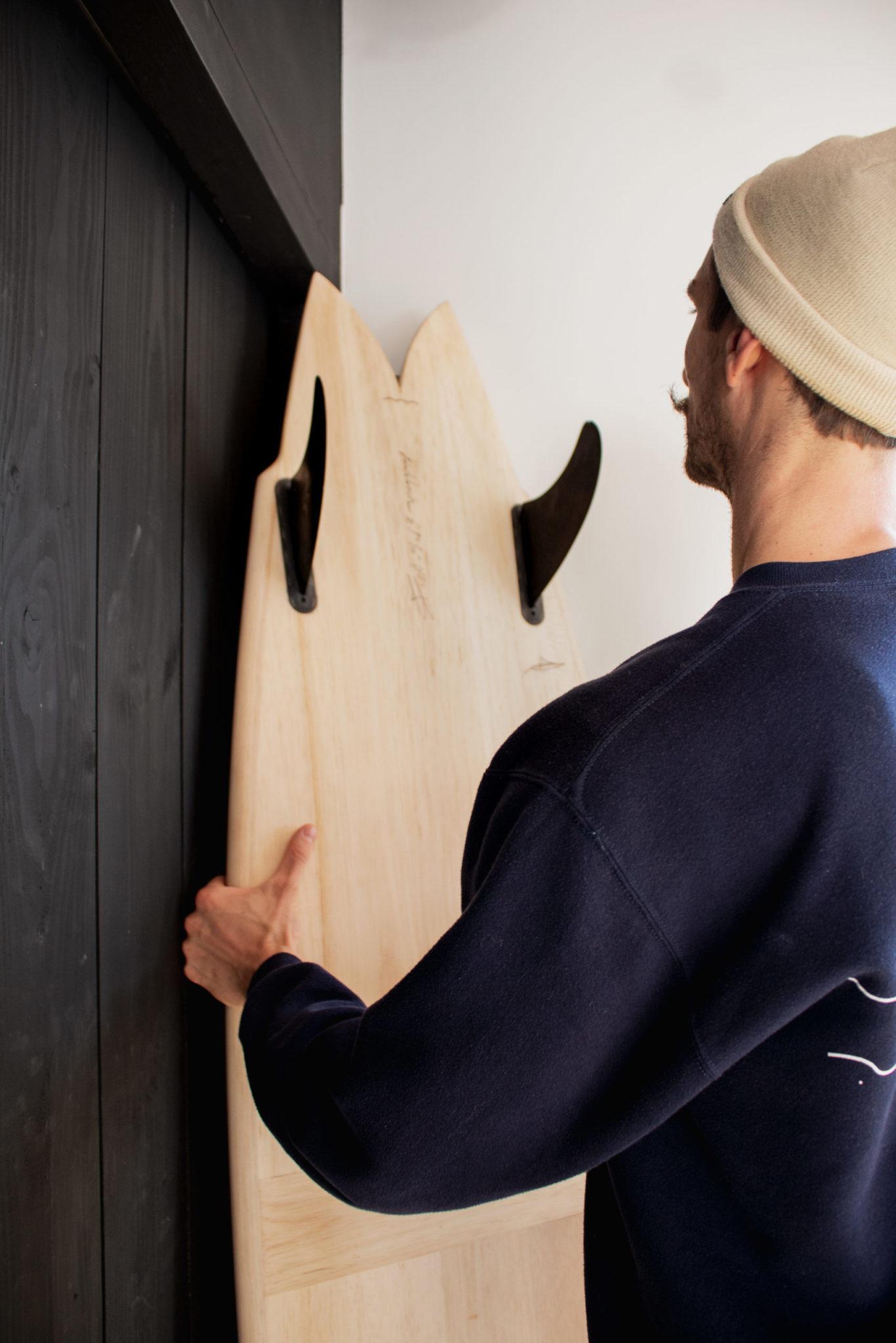 Cachalot Surfboards planche bois surf handmade artisan shaper hollow bois ile de ré