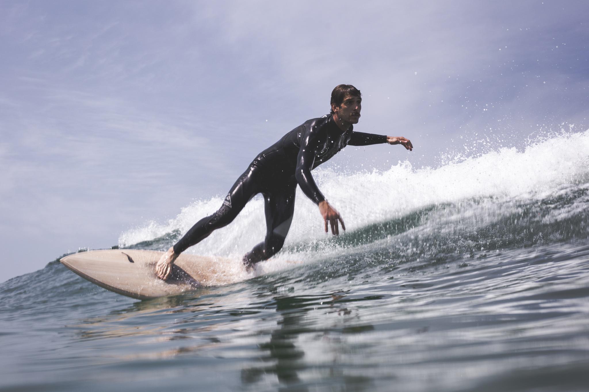 cachalot surfboards planche surf handmade artisan shaper hollow bois hareng florian gruet
