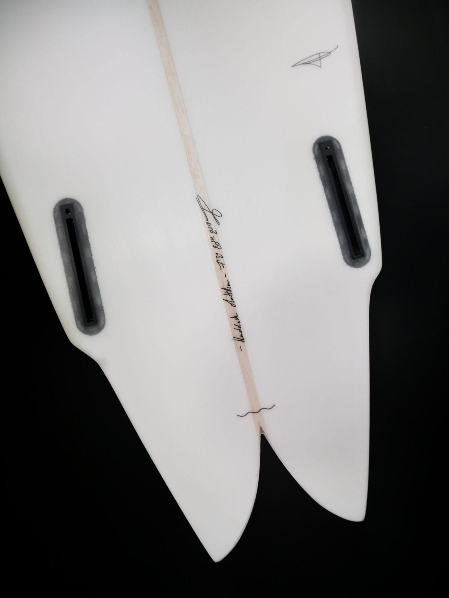 Cachalot Surfboards planche surf handmade artisan shaper hollow bois eps haddock