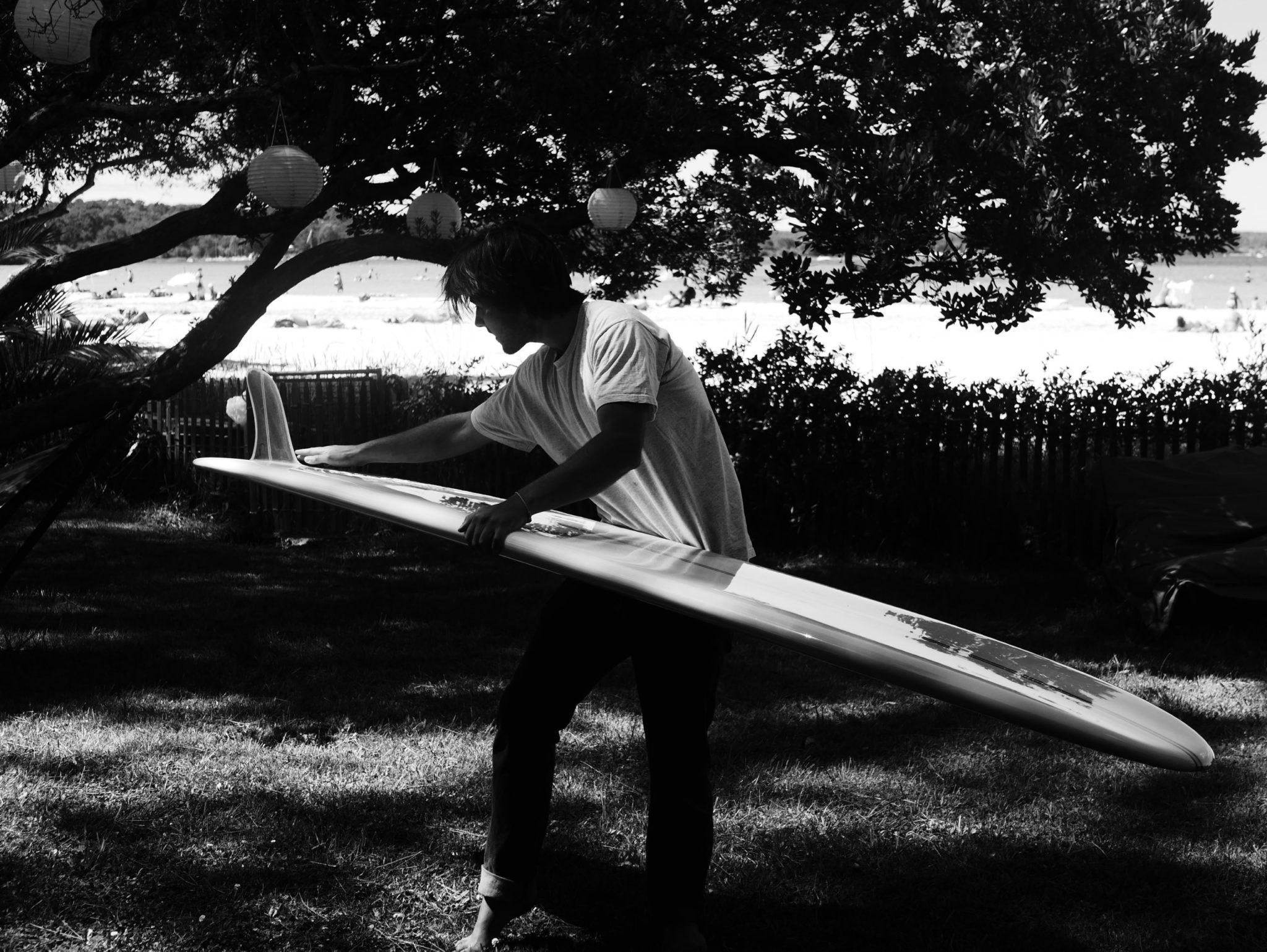 Cachalot Surfboards planche surf handmade artisan shaper hollow bois eps lauzin