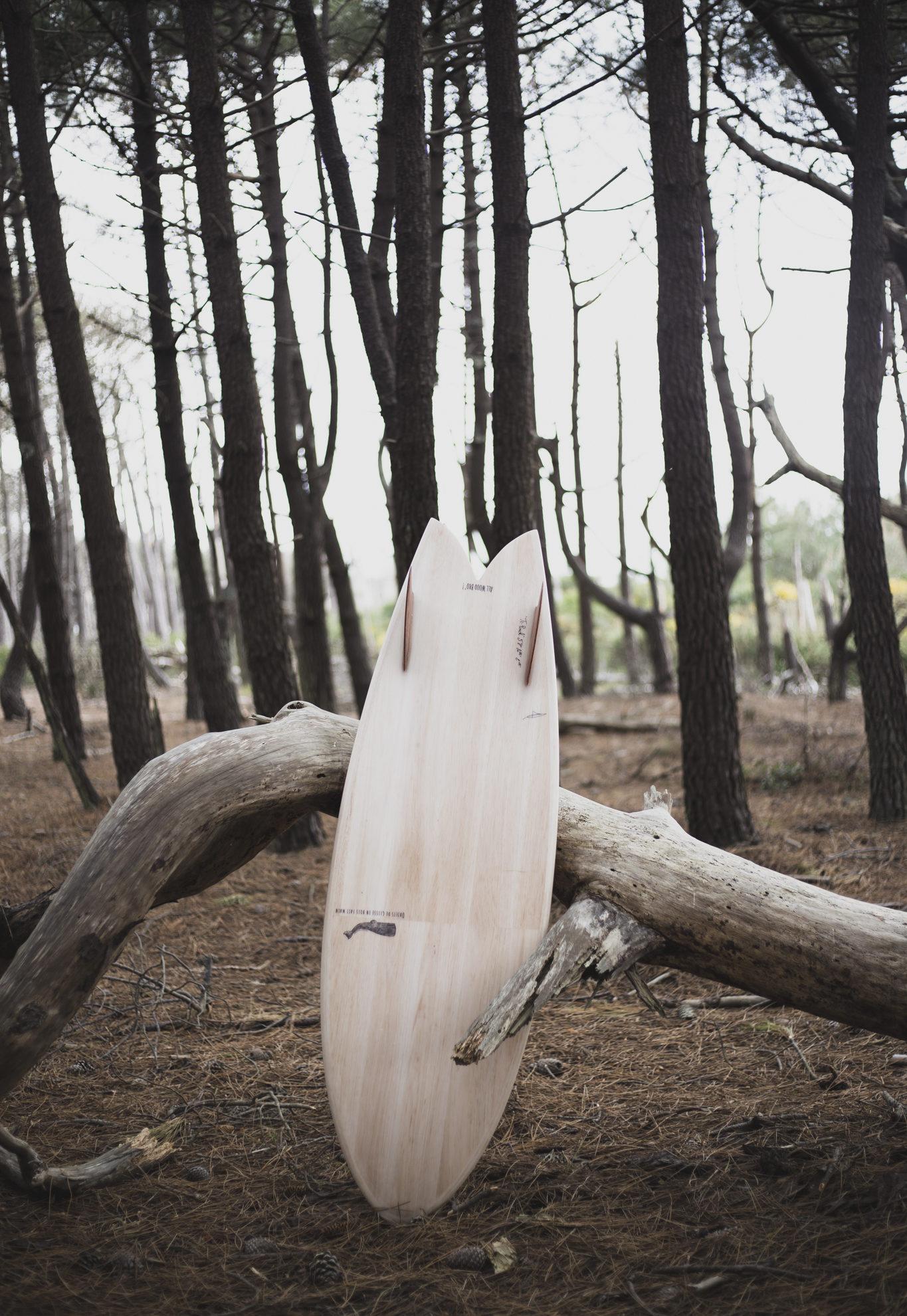 cachalot surfboards balsa planche surf handmade artisan shaper hollow bois scorbut