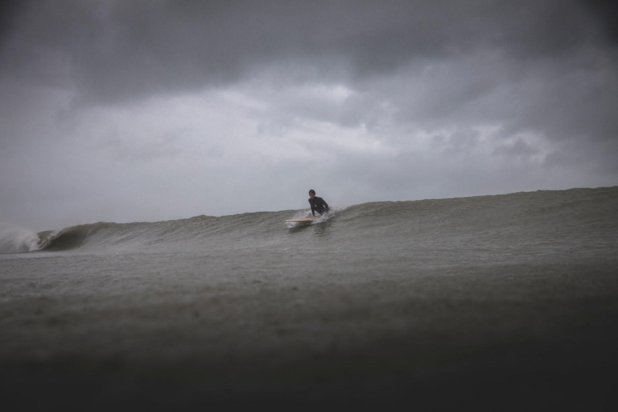 Cachalot Surfboards planche surf handmade artisan shaper hollow wooden lauzin blunt