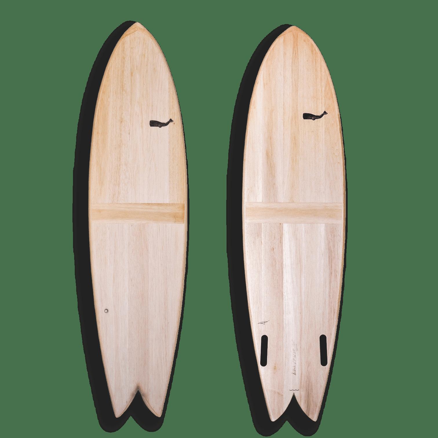 cachalot surfboards planche surf handmade artisan shaper bois hollow quiver haddock