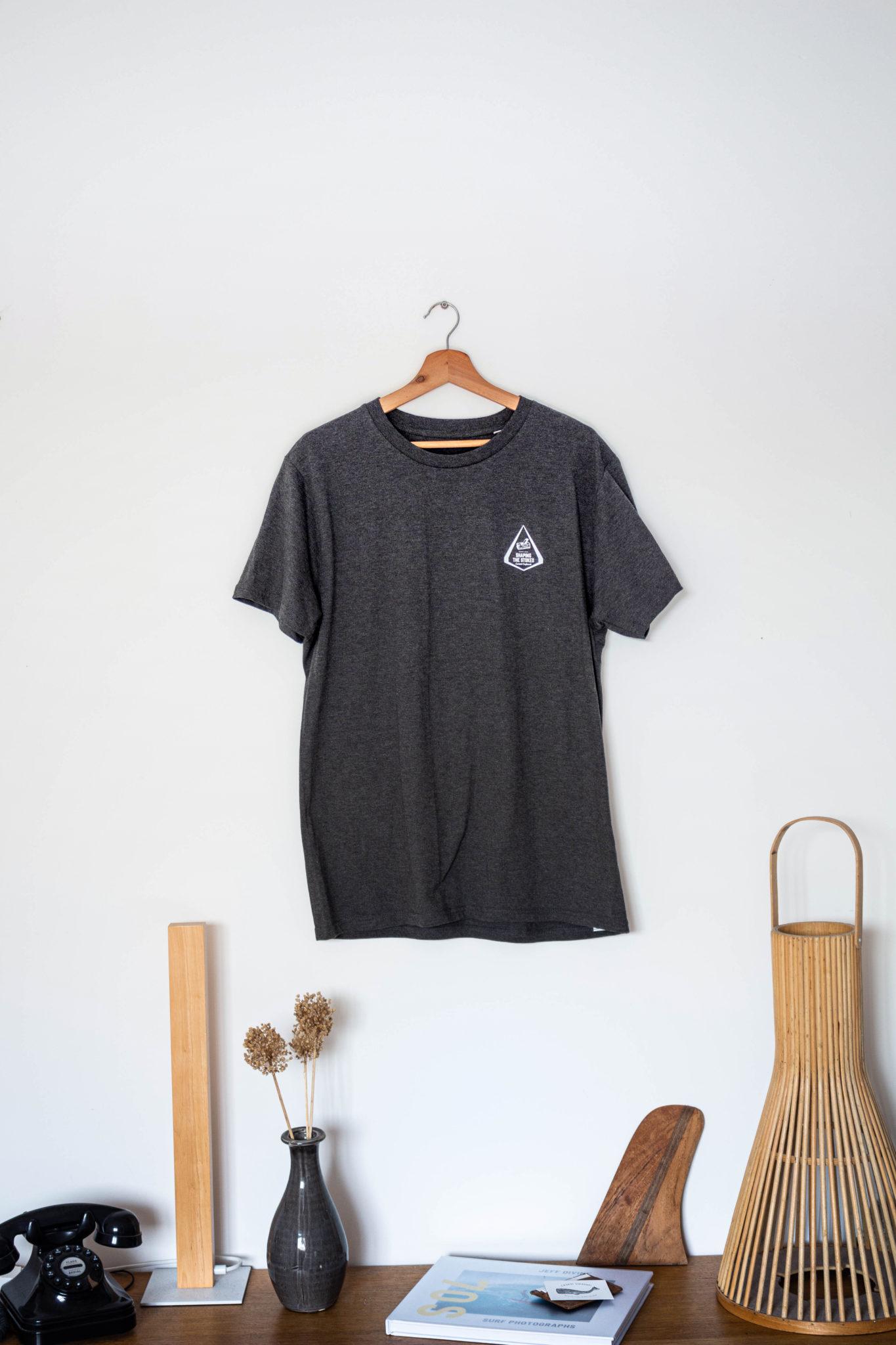 Cachalot Surfboards planche surf handmade artisan shaper hollow wooden collection textile teeshirt