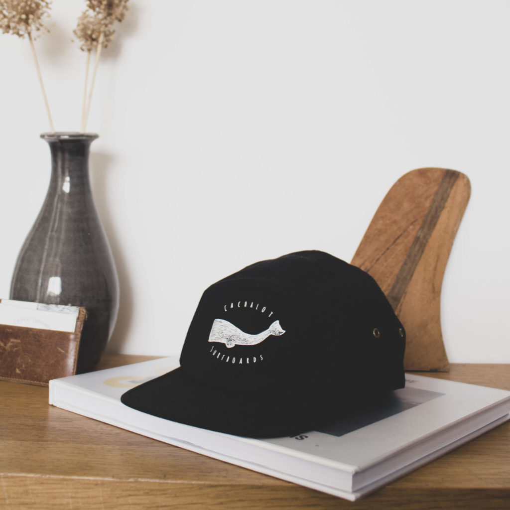 Cachalot Surfboards artisan surf shaper casquette